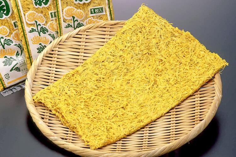 Dried edible chrysanthemum
