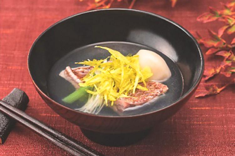 edible chrysanthemum soup