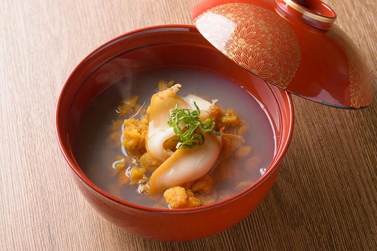 Ichigoni Urchin Soup