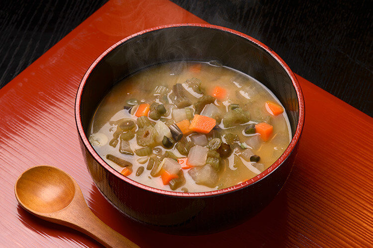 Warm Soup Dishes