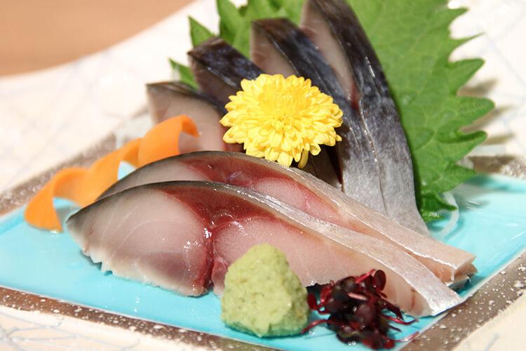 Hachinohe Maeoki Saba sashimi