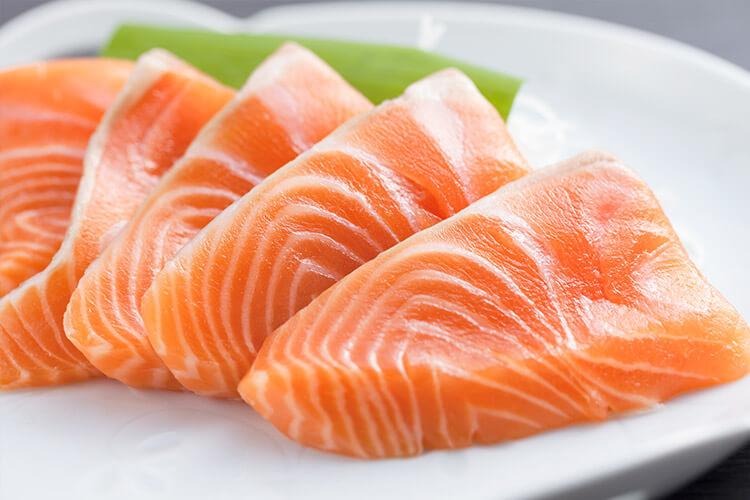 Kaikyo Salmon sashimi