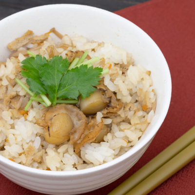 Mixed Rice with Scallops